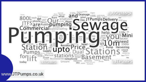 words associated with sewage pumping stations